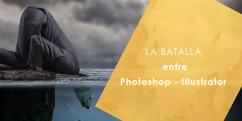 La Batalla Entre Photoshop Illustrator
